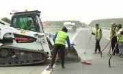 Circulația pe Autostrada Soarelui a fost reluată, în zona unde două dale de beton s-au dilatat din cauza căldurii