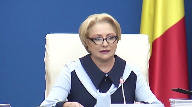 Ședință de Guvern. Premierul Viorica Dăncilă, despre majorarea salariului minim