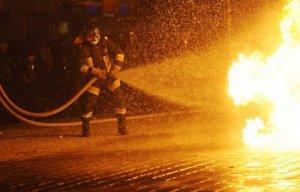 Incendiu într-un restaurant din centrul vechi al Capitalei