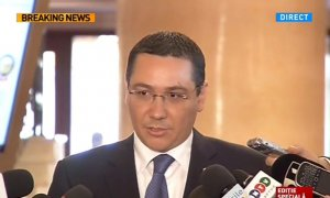 Ponta, despre amânarea învestiturii lui Vâlcov: E un lucru neserios şi nu-mi place să ne jucăm cu lucrurile acestea