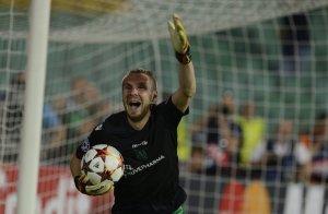 Steaua a ratat calificarea în grupele Ligii, după ce fostul fundaș dinamovist Cosmin Moţi a apărat două penalty-uri
