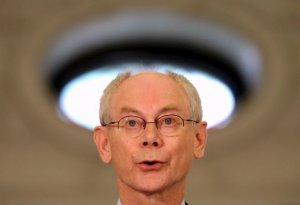 Van Rompuy: Luis de Guindos beneficiază de un sprijin larg pentru a deveni noul şef al Eurogrupului
