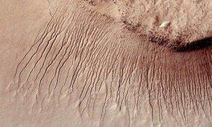 Noi dovezi ale existenţei apei pe Marte, găsite pe un meteorit căzut pe Terra