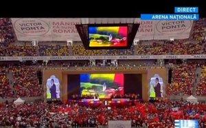 Victor Ponta: S-au construit în 10 ani numai ziduri. Veniţi alături de mine să dărâmăm acele ziduri!