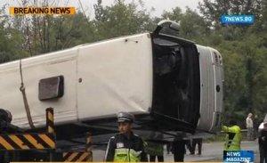 Autorităţi bulgare: Şoferul autocarului răsturnat NU consumase băuturi alcoolice