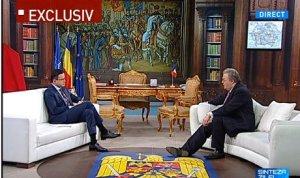 """Corneliu Vadim Tudor, în """"Biroul Preşedintelui"""": România e colonie. Cei 10 ani cu Traian Băsescu sunt o pagină neagră în istoria României"""