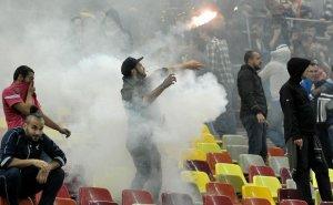 UEFA a amendat FRF şi a închis un sector al Arenei Naţionale, după incidentele de la meciul România - Ungaria