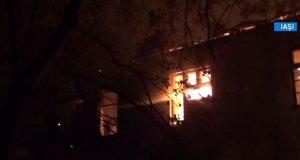 Un monument istoric din Iaşi a fost distrus de flăcări