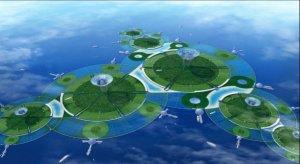 """ORAŞELE VIITORULUI: Cum ar putea arăta viitoarele """"oraşe-plutitoare"""""""