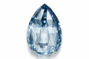 Recordul absolut al acestui diamant albastru. Cu cât s-a vândut