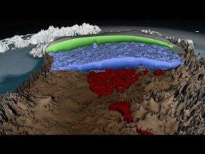 Cum arată calota glaciară din Groenlanda. Cercetătorii au realizat prima hartă 3D