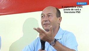 Băsescu despre cariera politică: Nu pune mâna pe bani!