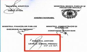 Şocant: 1.264 documente suspecte, avizate şi semnate de Bica