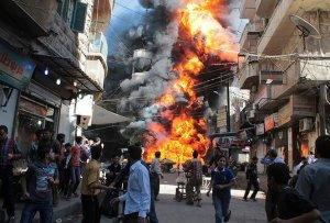 Zeci de rebeli şi membri ai unei agenţii siriene de securitate, ucişi într-o explozie la Alep