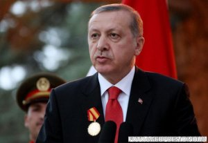 Klaus Iohannis l-a primit la Palatul Cotroceni pe preşedintele Turciei, Recep Tayyip Erdogan