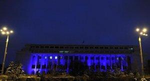 Palatul Victoria va fi iluminat în albastru, pentru a marca Ziua Internaţională de Conştientizare a Autismului