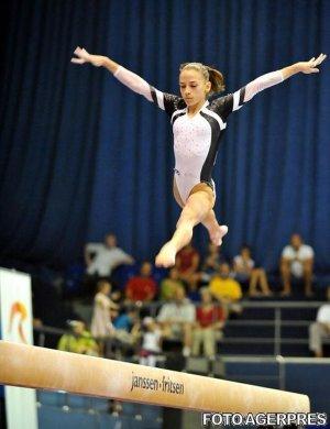 Gimnastică artistică: Andreea Munteanu a cucerit aurul la bârnă, la Europenele de la Montpellier