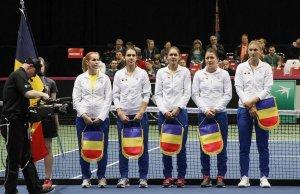 România s-a calificat în Grupa Mondială la Fed Cup! Dulgheru a revenit spectaculos cu Abanda şi a dus scorul la 3-1