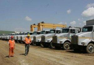 La Autostrada Transilvania se lucrează cu utilaje FURATE, date în urmărire internaţională