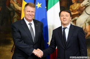 Premierul Italiei: Aderarea României la spaţiul Schengen este în interesul întregii Uniuni Europene