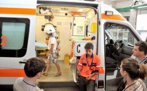 Caransebeş. Un motociclist austriac a murit decapitat după ce s-a izbit de o autotutilitară