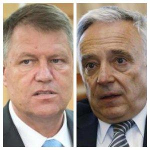 Băsescu: Mugur Isărescu l-a influențat pe Iohannis. A greșit