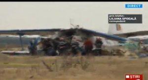 UPDATE. Pilotul care s-a prăbuşit sâmbătă dimineaţă cu avionul în Brăila a murit