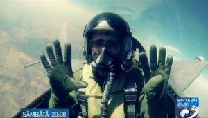 CaN România: Ionuţ Cristache s-a plimbat cu F-16