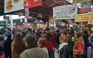 Haos în Gara de Nord din Capitală: Circulaţia este îngreunată din cauza unei defecţiuni