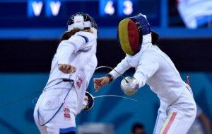 Echipa feminină de spadă a României a cucerit medaliile de argint la Jocurile Mondiale Militare
