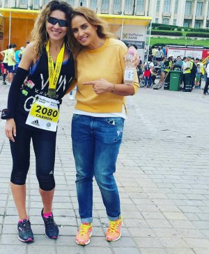 Primul maraton al lui Carmen Brumă. Vezi un documentar senzaţional filmat nouă luni