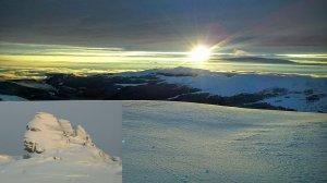 Ce s-a întâmplat pe platoul Bucegilor, la peste 2.200 de metri. Ciudatul fenomen are loc foarte rar
