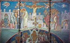 Ce caută OZN-uri în mai multe icoane cu răstignirea lui Iisus - FOTO