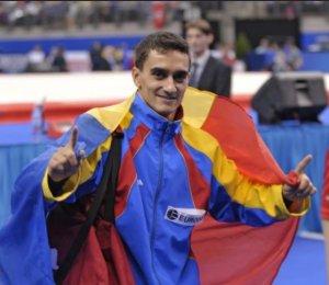 Marian Drăgulescu, medaliat cu argint la sol la Europenele de la Berna