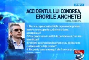 Patru întrebări esențiale despre moartea lui Dan Condrea