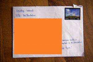 Poșta islandeză a reușit să livreze o scrisoare fără adresă și fără destinatar. Ce scria pe plic - FOTO