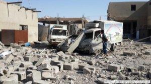 Atentat în Siria. Un atentator sinucigaș cu mașină-capcană a atacat o clădire. Sunt cel puțin zece morți