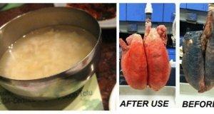 Fumezi de ani de zile? Reteta asta iti curata plamanii in doar trei zile!