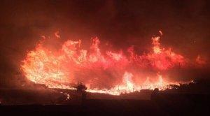 Incendiu masiv în Turcia, în apropierea unei baze NATO VIDEO