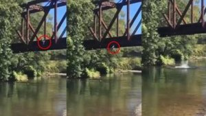 L-a prins de un braț și l-a aruncat de pe pod. Ce făcea mama copilului de 4 ani în acest timp. Oamenii nu au mai suportat și au chemat poliția