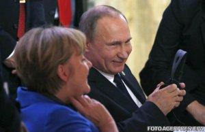 Vladimir Putin a anulat o întâlnire cu Merkel și Hollande. De ce se temea liderul rus
