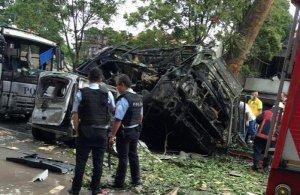 Explozie puternică pe o șosea din Turcia. Opt militari au fost răniți