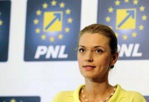 Liberalii au decis: Alina Gorghiu, preşedinte unic al PNL