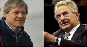 Legătura suprinzătoare dintre Dacian Cioloș şi miliardarul Soros