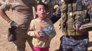 Mesajul cutremurător al unei fetițe de 10 ani pentru militarii care au salvat-o din mâinile ISIS