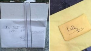 La nouă ani de la nuntă, au găsit un cadou încă nedesfăcut în dulap! Din acea zi, totul s-a schimbat