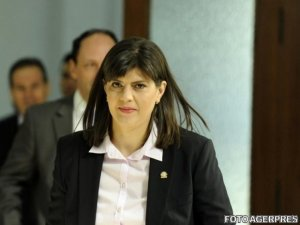 Laura Codruța Kovesi și Augustin Lazăr, la Ministerul Justiției