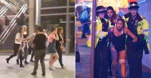 Imagini pentru atentatul de la manchester,poze