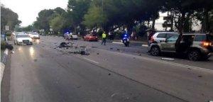 Alertă în Spania. O mașină a intrat pe un trotuar și i-a spulberat pe trecători