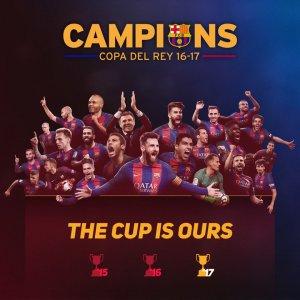 FC Barcelona a câştigat Cupa Spaniei